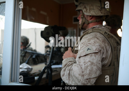Incoming U.S Soldiers with Delta Company, 1st Battalion, 5th Cavalry Regiment, 2nd Brigade Combat Team, 1st Cavalry - Stock Photo