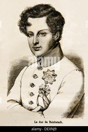 Napoléon François Joseph Charles Bonaparte, Duke of Reichstadt 20 March 1811 – 22 July 1832 was the son of Napoleon - Stock Photo