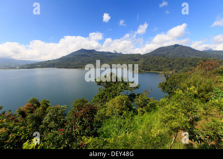Indonesia, Bali, Central Mountains, Munduk, Danau Buyan Lake - Stock Photo