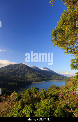 Indonesia, Bali, Central Mountains, Munduk, Danau Tablingan Lake - Stock Photo