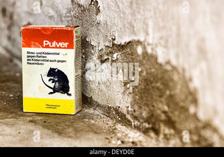 Rat poison, Rattengift - Stock Photo