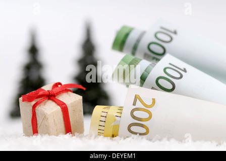 Christmas bonus - Stock Photo