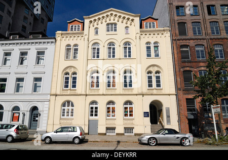 Historic merchant's house on Schellerdamm in Harburg, Hamburg - Stock Photo