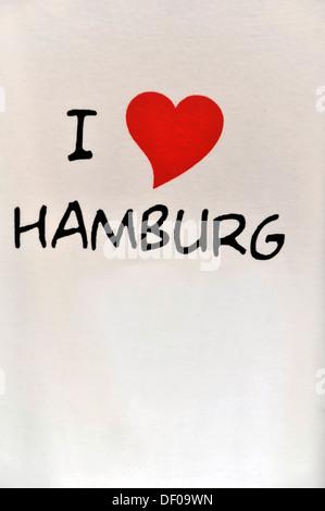 i love hamburg stock vektorkunst und illustration vektorbild 104648651 alamy. Black Bedroom Furniture Sets. Home Design Ideas