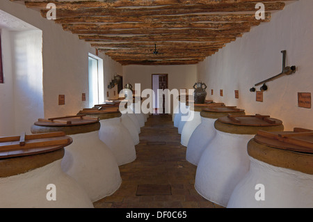 Baena, Olive oil Cellar. Núñez de Prado, Route of the Caliphate, Cordoba province, Andalusia, Spain - Stock Photo