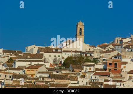 Baena, Route of the Caliphate, Cordoba province, Andalusia, Spain - Stock Photo