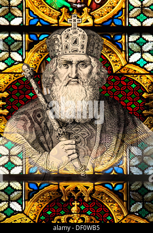 Charlemagne, Charles the Great, 747-814, King of the Franks, Roman Emperor - Stock Photo
