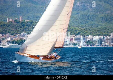 Classic Yachts - Stock Photo