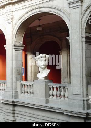 Academia de San Carlos. Ciudad de México. - Stock Photo
