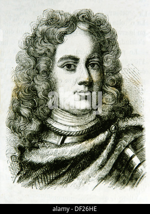 John Churchill, 1st Duke of Marlborough KG PC 26 May 1650 - 16 June 1722 O S, was a prominent English soldier and - Stock Photo