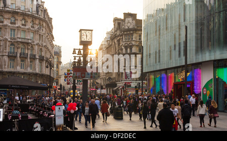 Leicester Square - Westminster - London - Stock Photo