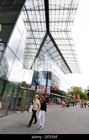 Neues Kranzler Eck shopping centre, Berlin, Germany - Stock Photo