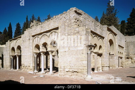 Cordoba, Spain. The ruins at Medina Azahara or Madinat al Zahra Stock Photo, ...