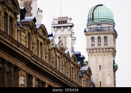 Tower with Observatory at the Sorbonne University. Paris. France - Stock Photo