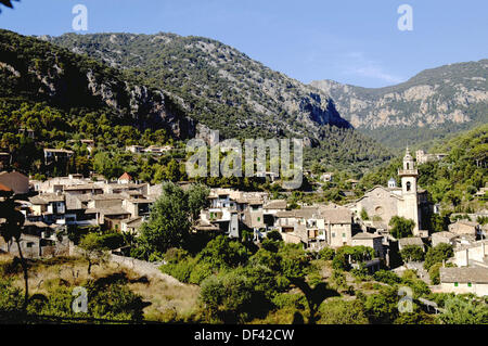 Image of General View from Valldemossa in Mallorca - Stock Photo