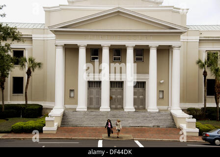 The State Supreme Court Building Tallahasse Florida - Stock Photo