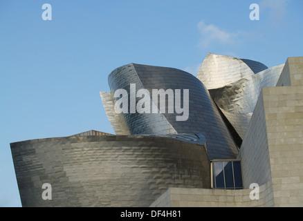 The Guggenheim Museum,Bilboa,Spain - Stock Photo