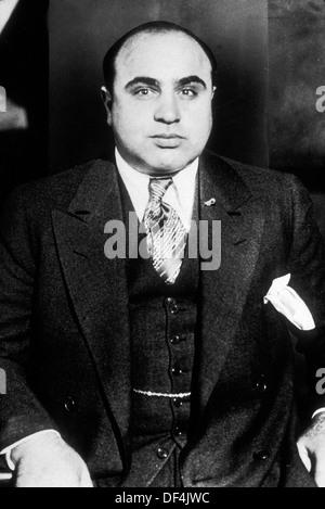 Al Capone, Alphonse Gabriel 'Al' Capone, Al Capone, American gangster - Stock Photo