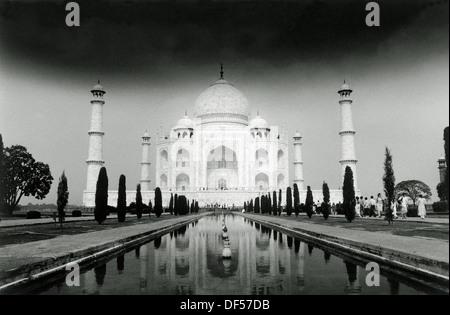 Taj Mahal. Agra. India - Stock Photo