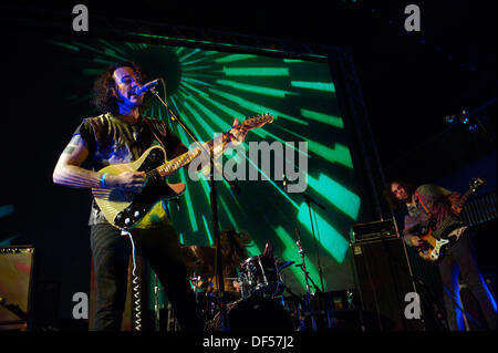Liverpool, Mersyside, UK. 27th Sep, 2013. . Liverpool International Festival Of Psychedelia at Camp and Furness - Stock Photo