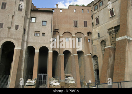Teatro Marcello (Marcello´s theatre). Rome. Italy - Stock Photo