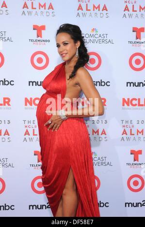 Pasadena, CA. 27th Sep, 2013. Dania Ramirez at arrivals for The 2013 NCLR ALMA Awards, Pasadena Civic Auditorium, - Stock Photo