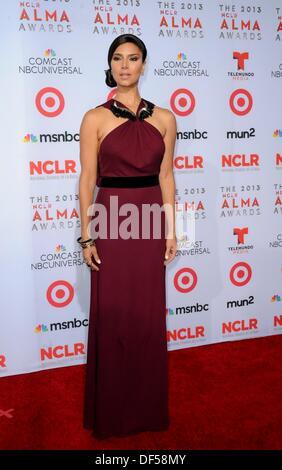 Pasadena, CA. 27th Sep, 2013. Roselyn Sanchez at arrivals for The 2013 NCLR ALMA Awards, Pasadena Civic Auditorium, - Stock Photo