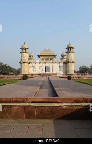 Itimad-ud-Daulah or Baby Taj in Agra India - Stock Photo