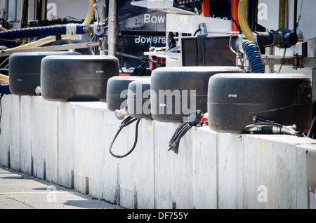 Pit Wall at the Baltimore Grand Prix - Stock Photo