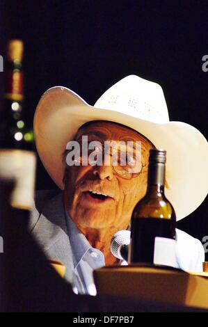 Sept. 27, 2013 - Austin, Texas, U.S. - Director and stuntman John 'Bud'' Cardos at ''Our dinner with the Danger - Stock Photo