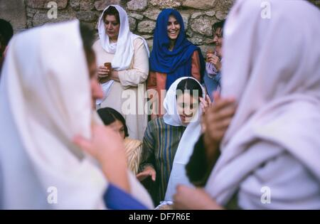 SPAIN / Extremadura / Badajoz / Alburquerque  Medieval recreations in Spain  Sephardic wedding  The village celebrates - Stock Photo
