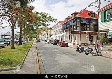 Gustavia. St. Barts. Caribbean - Stock Photo