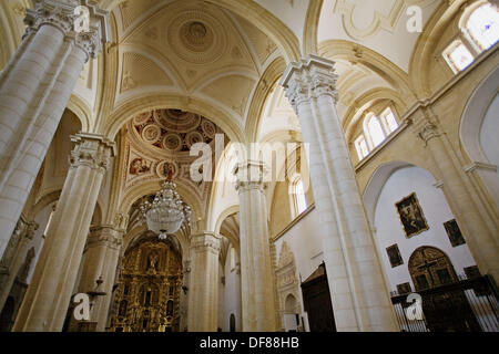 Cathedral, Baeza. Jaen province, Andalusia, Spain - Stock Photo