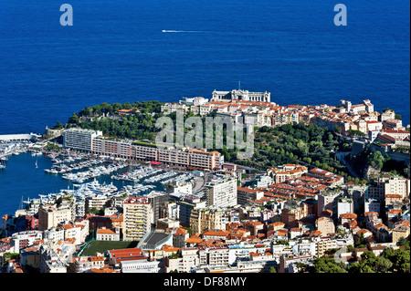 Europe, France, Principality of Monaco, Monte Carlo. - Stock Photo