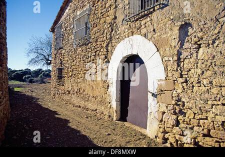 San Pelegrín, Huesca province, Spain - Stock Photo