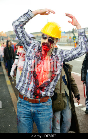 2013 Stockholm Zombie Walk - Stock Photo
