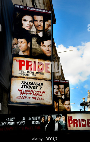 London, England, UK. Trafalgar Studios in Whitehall. 'The Pride' (Sept 2013) - Stock Photo