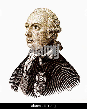 Joseph II, 1741 - 1790, House of Habsburg-Lorraine, Archduke of Austria, German King and Emperor of the Holy Roman - Stock Photo