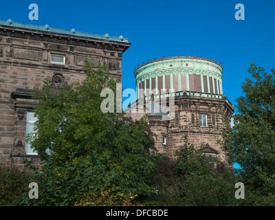 Royal Observatory Edinburgh - Stock Photo
