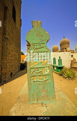 City of the Dead, Cairo. Egypt - Stock Photo