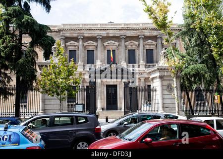 Spain's National library Biblioteca y Museos Nactionale - Stock Photo
