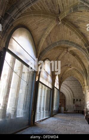 Cathedral Cloister AVILA, CASTILLA Y LEON, SPAIN - Stock Photo