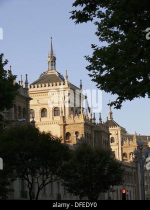 Academia de Caballería, Valladolid. Castilla-Leon, Spain - Stock Photo