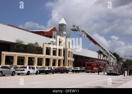 Miami Beach Convention Center, Florida - Stock Photo