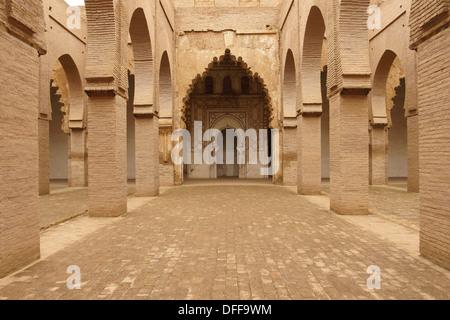 Tin Mal Mosque, Tinmel, XII Century, Ifouriren, Road Tizi-n-Test, Atlas Mountains, Morocco, Africa - Stock Photo