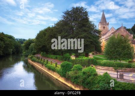Bradford on Avon, Holy Trinity church, Wiltshire, England, United Kingdom - Stock Photo