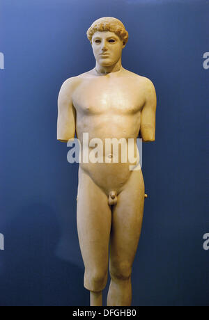 Statue at Acropolis Museum. Athens, Greece - Stock Photo