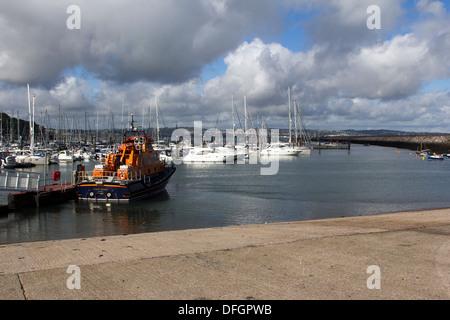 Brixham Marina,d day ramps - Stock Photo