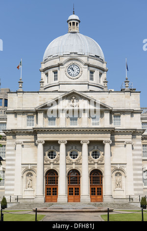 Department of the Taoiseach (the title of the deputy prime minister) at Government Buildings. Dublin, Merrion Street, - Stock Photo