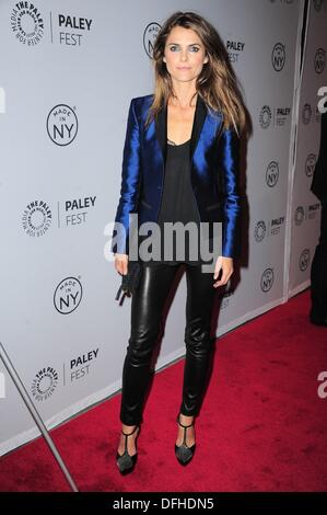 New York, NY, USA. 4th Oct, 2013. Keri Russell at arrivals for PaleyFest: Made in NY - THE AMERICANS, The Paley - Stock Photo